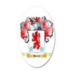 Hurry 20x12 Oval Wall Decal