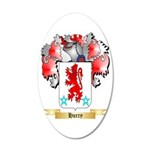 Hurry 35x21 Oval Wall Decal