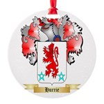 Hurrie Round Ornament