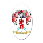 Hurrie 20x12 Oval Wall Decal