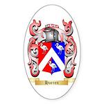 Hurren Sticker (Oval 50 pk)