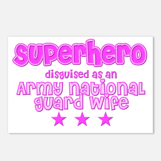 Superhero - ARNG Postcards (Package of 8)