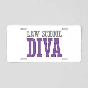 Law School DIVA Aluminum License Plate