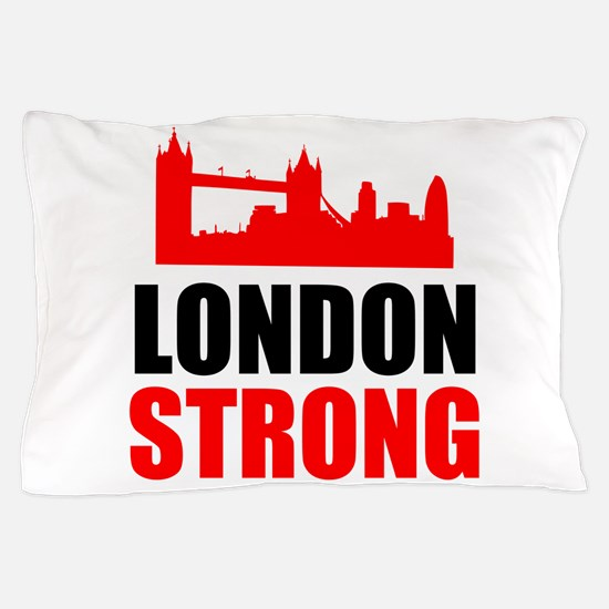 London Strong Pillow Case