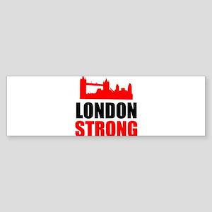 London Strong Bumper Sticker