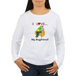 Love My Boyfriend Women's Long Sleeve T-Shirt