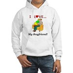 Love My Boyfriend Hooded Sweatshirt