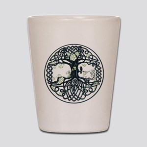 Celtic Tree Knot Shot Glass