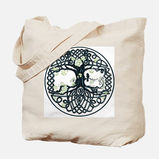Celtic Tree Knot Tote Bag