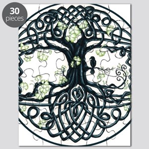 Celtic Tree Knot Puzzle