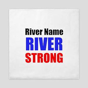 River Strong Queen Duvet