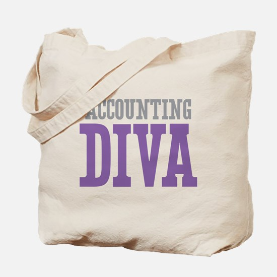 Accounting DIVA Tote Bag