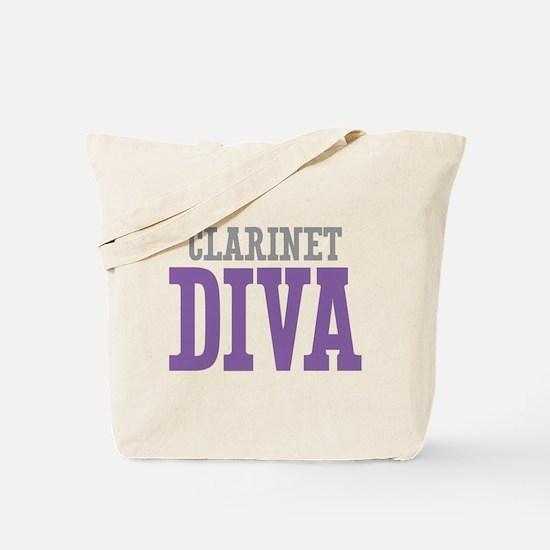 Clarinet DIVA Tote Bag