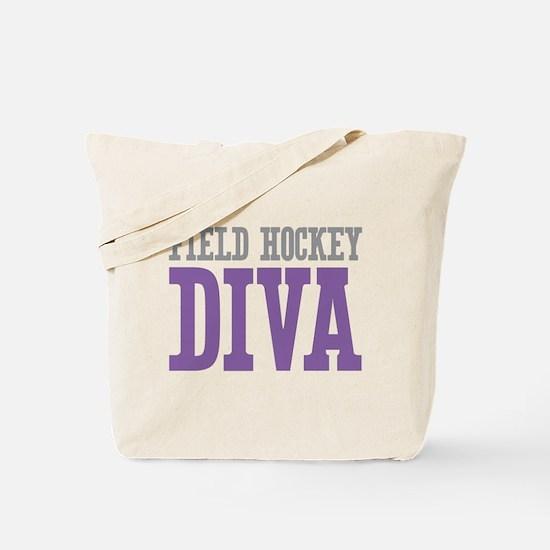 Field Hockey DIVA Tote Bag