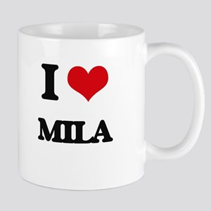 I Love Mila Mugs