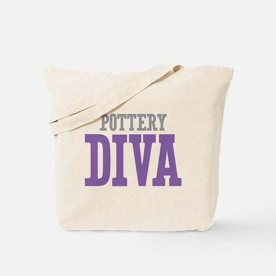 Pottery DIVA Tote Bag