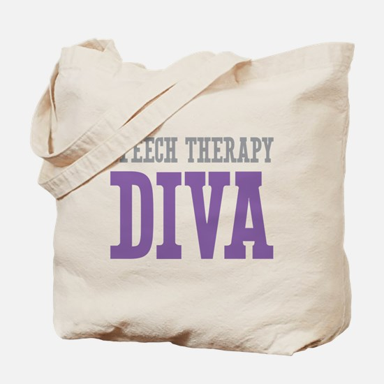 Speech Therapy DIVA Tote Bag