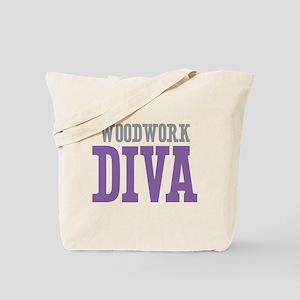 Woodwork DIVA Tote Bag