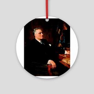 franklin d roosevelt Ornament (Round)
