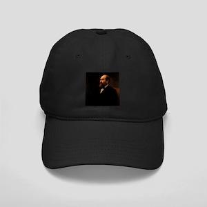 james a garfield Black Cap