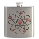 Atomic Valentine Flask