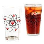Atomic Valentine Drinking Glass