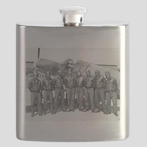 tuskegee airmen Flask
