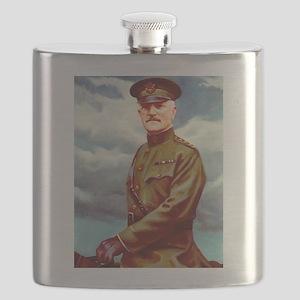 john pershing Flask