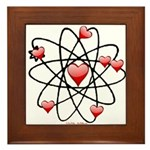 Atomic Valentine Framed Tile