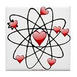Atomic Valentine Tile Coaster