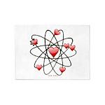 Atomic Valentine 5'x7'Area Rug