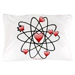 Atomic Valentine Pillow Case