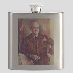 omar bradley Flask