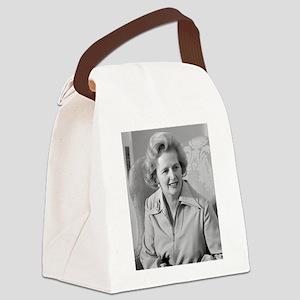 margaret thatcher Canvas Lunch Bag