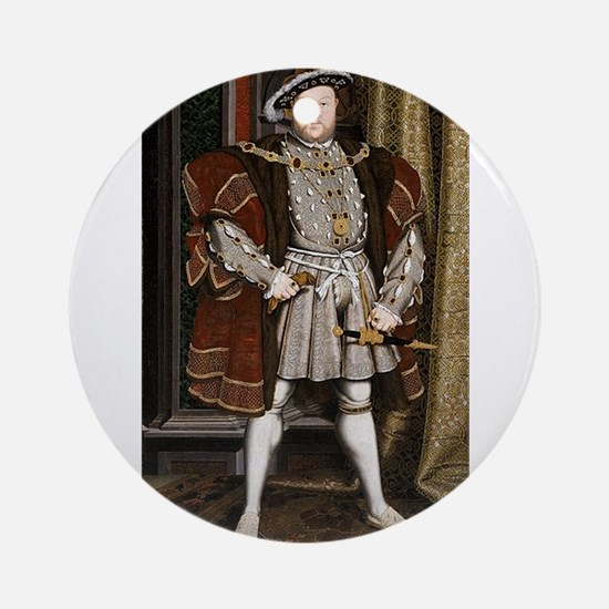 henry the eighth Ornament (Round)