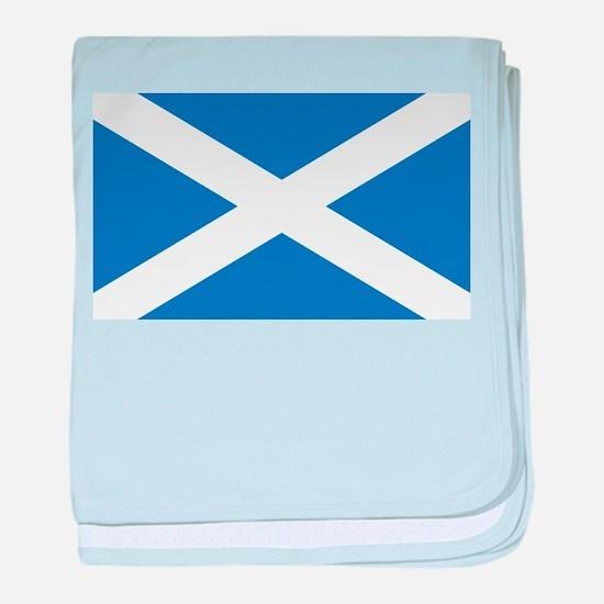 scotland-flag.png baby blanket