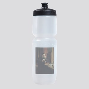 louis pasteur Sports Bottle