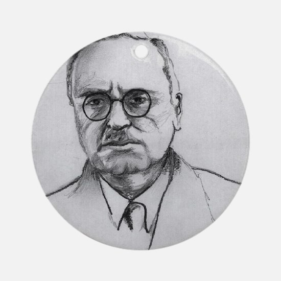 alfred adler Ornament (Round)