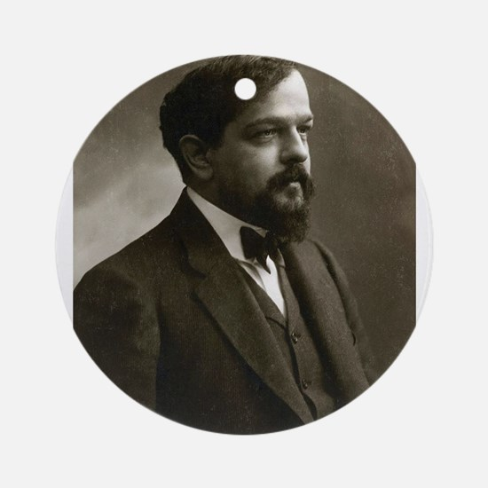 claude debussy Ornament (Round)