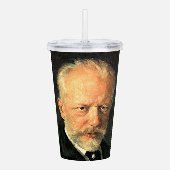 tchaikovsky Acrylic Double-wall Tumbler