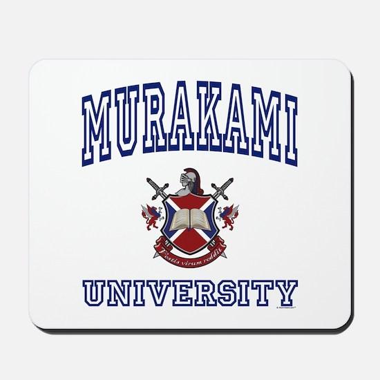 MURAKAMI University Mousepad