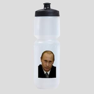 vladimir putin Sports Bottle