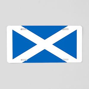 scotland-flag Aluminum License Plate
