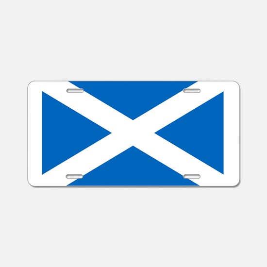 scotland-flag.png Aluminum License Plate