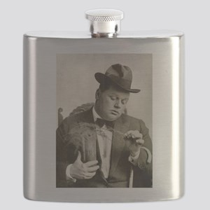 fatty arbuckle Flask
