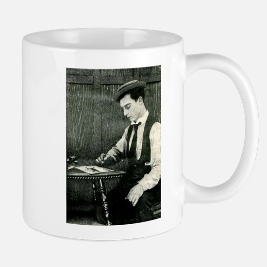 buster,keaton Mug