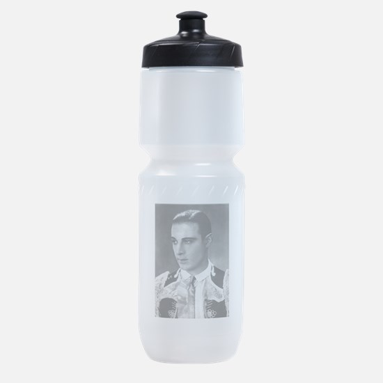 rudolph valentino Sports Bottle