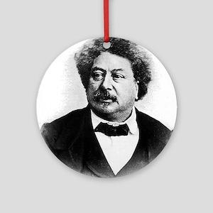 alexandre dumas Ornament (Round)