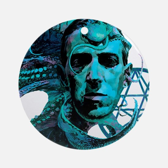 HP Lovecraft Ornament (Round)