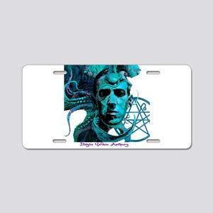 HP Lovecraft Aluminum License Plate